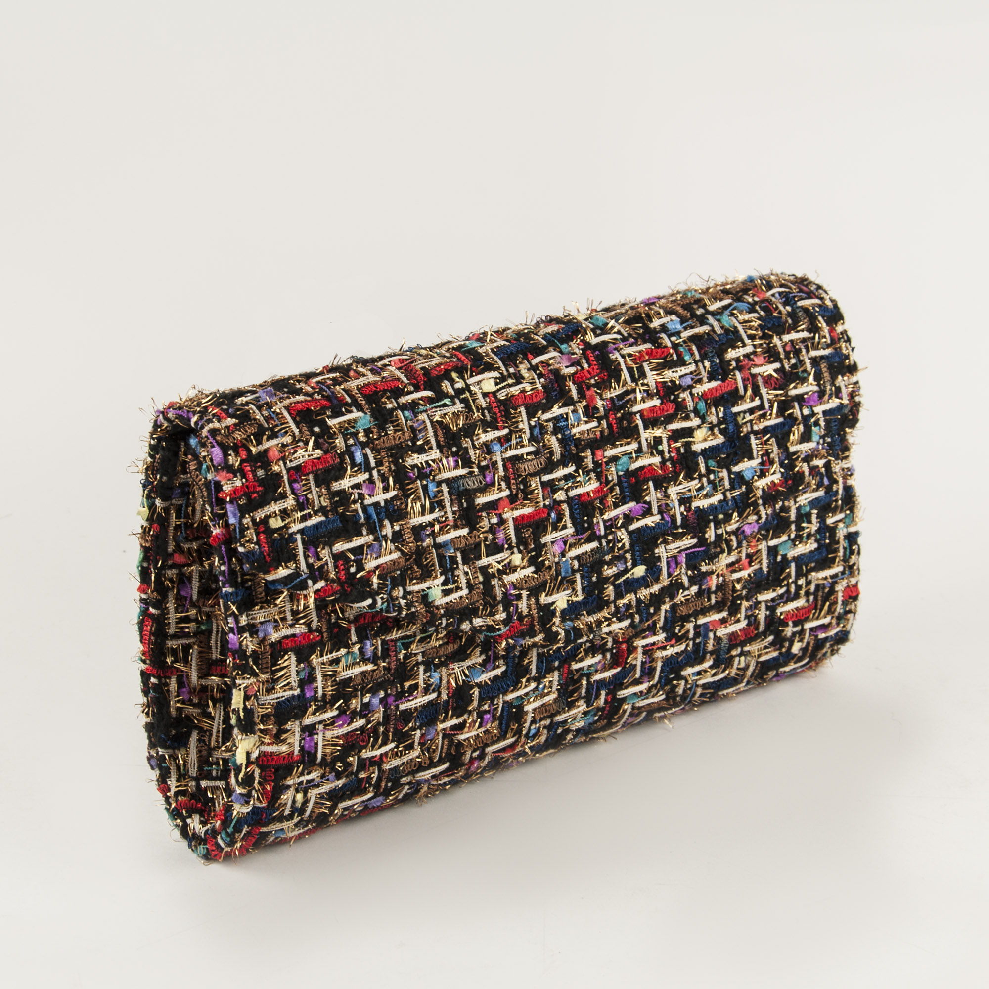 Bolso estampado tweed