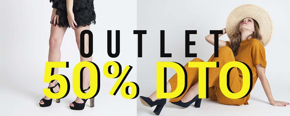 Discover our new Outlet Section. ALL WITH 50% OFF!